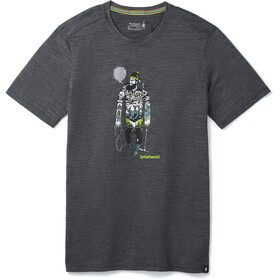 Smartwool Merino Sport 150 Game of Ghost Camiseta Hombre, medium gray heather